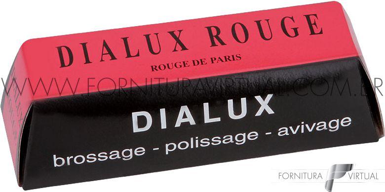 Pasta de Polimento Francesa Dialux Rouge - Vermelha