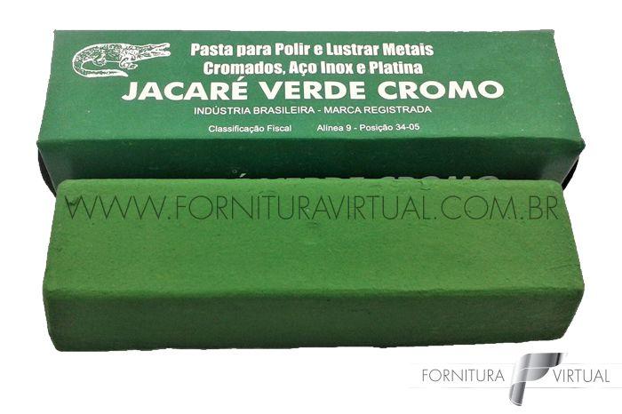 Pasta de Polimento Jacaré 400g - Verde