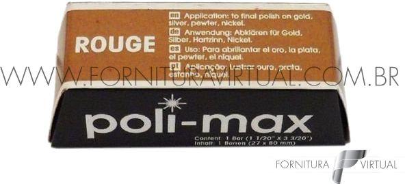 Pasta de Polimento Poli-max Rouge - Vermelha