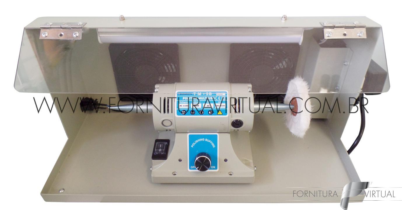 Politriz com Caixa Exaustora e Iluminação TM-5F6