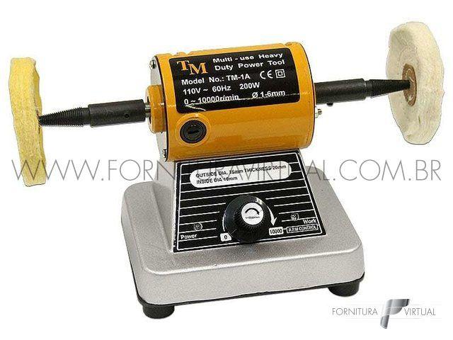 Politriz Motor de Polimento TM-1 - Com controle de velocidade
