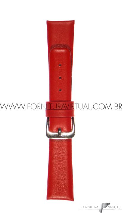 Pulseira para relógio - Social Sem Costura Vermelha - Francy