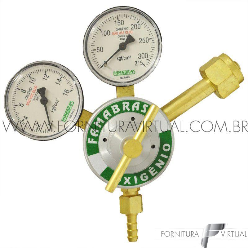 Regulador para oxigênio - Famabrás