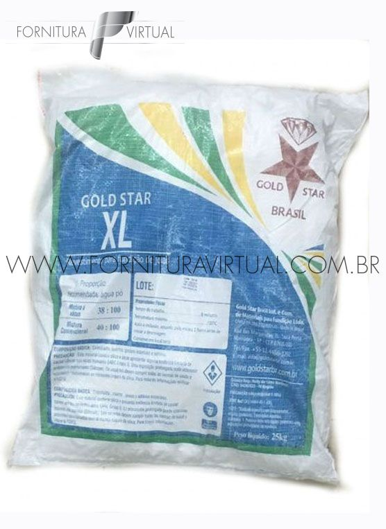 Revestimento / Gesso - Gold Star XL - 25Kg