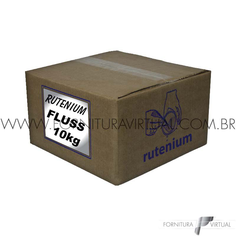 Revestimento Rutenium Fluss - 10Kg