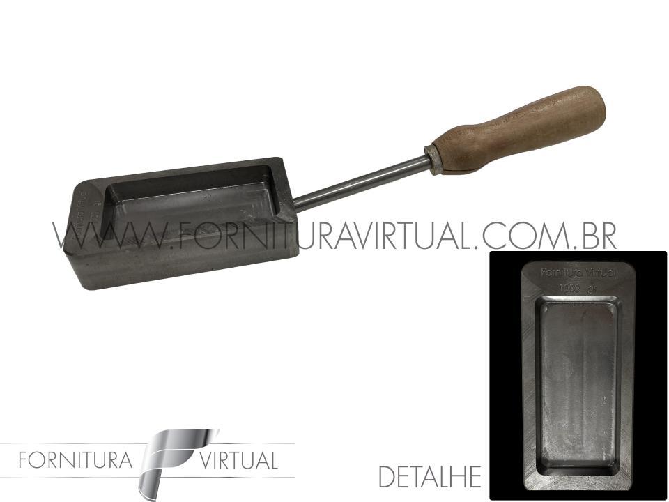 Rilheira Fornitura Virtual para fazer barras de 1Kg