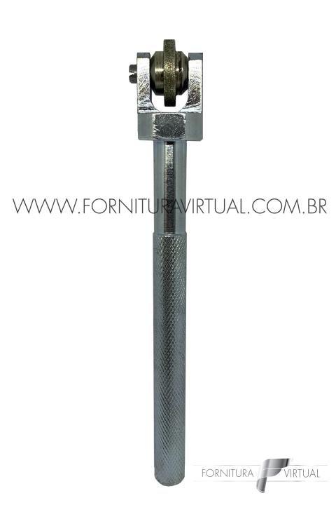 Rolina Diamantada Larga 4mm - Máquinas Coelho