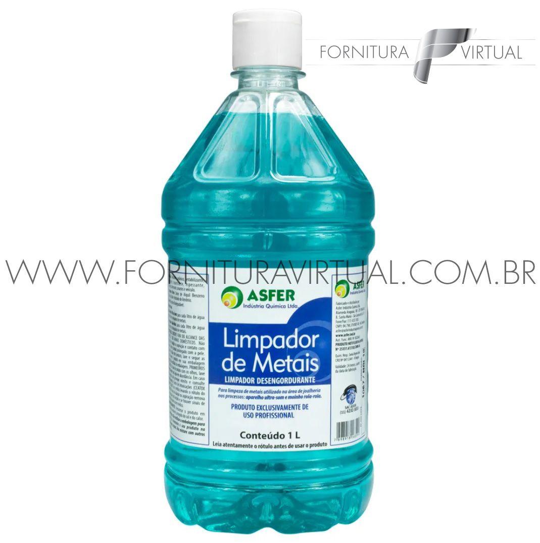 Shampoo Asfer Limpador de Metais - 1L