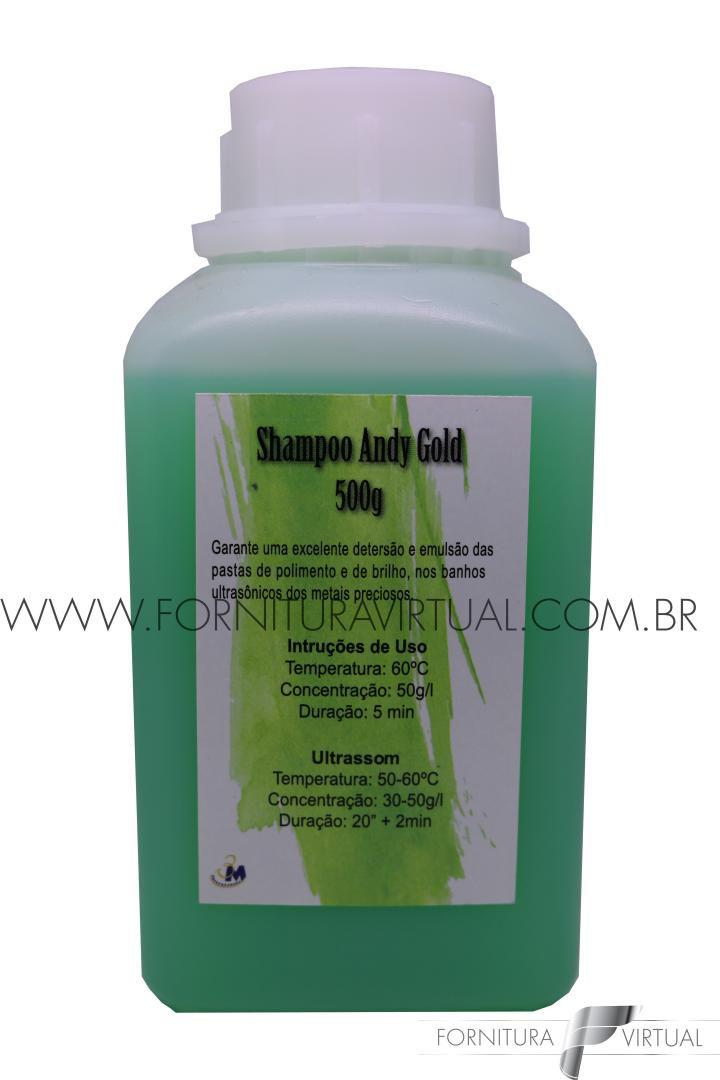 Shampoo Concentrado para Ultrassom - Andy Gold 1000g