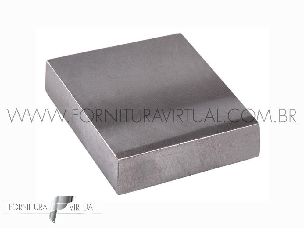 Taz de aço temperado quadrado - 75mm - IDMK