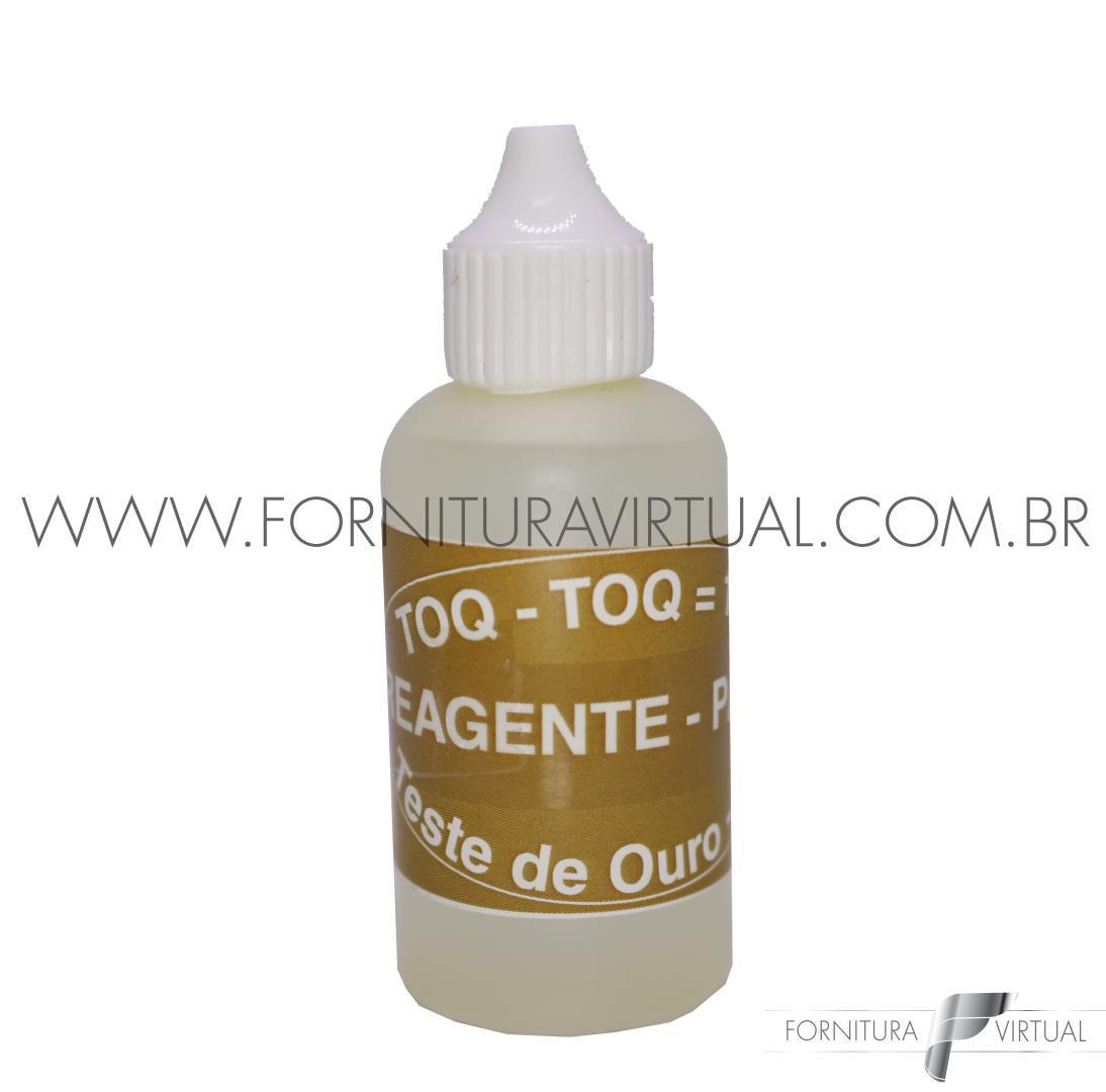 Teste de ouro líquido 30ml - Toq Toq