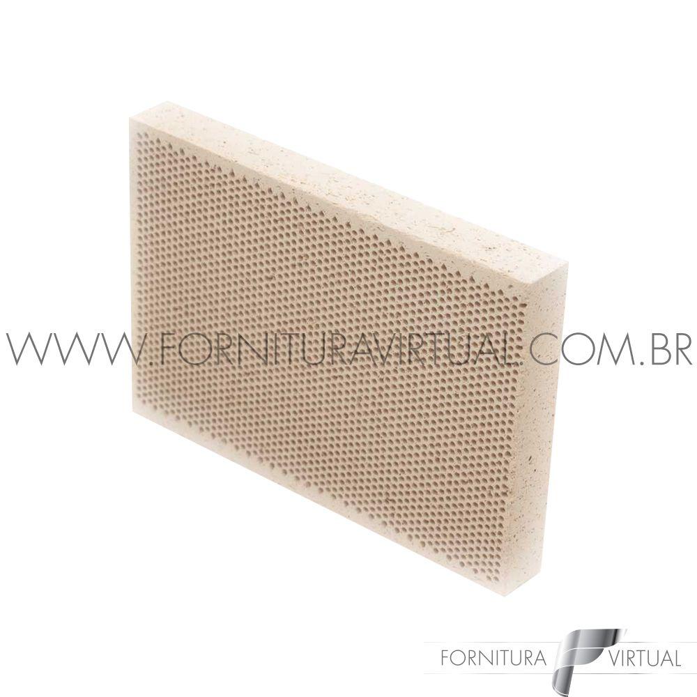 Tijolo Refratário Colméia - Honeycomb 10cm