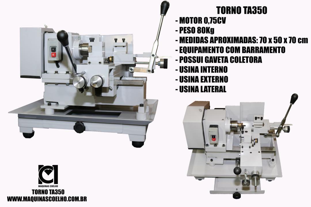 Torno de Alianças - TA350 - Máquinas Coelho