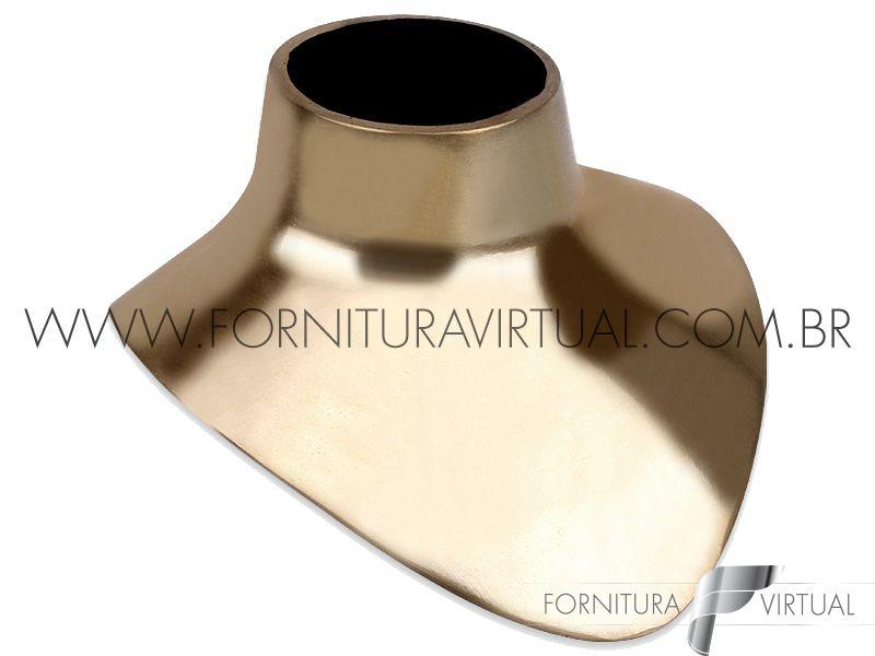 Tribulet de busto Dourado