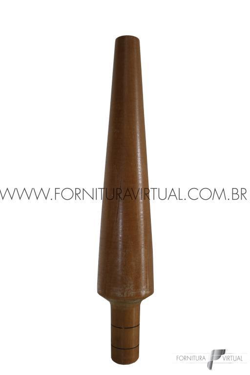 Tribulet de madeira para Pulseira - Oval