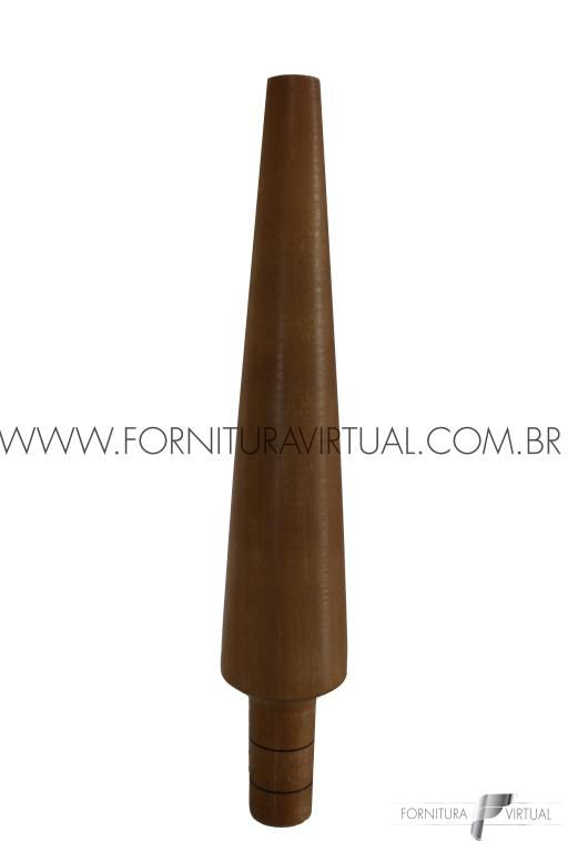 Tribulet de madeira para Pulseira - Redondo