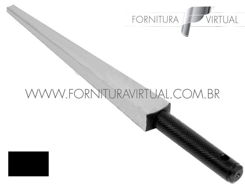 Tribulet Retângulo Canto Vivo em Aço Temperado MM - 280mm