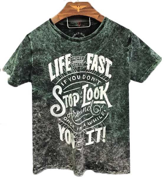 CAMISETA LIFE MOVE PRETTY FAST