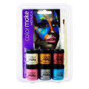 Cartela Líquida Metálica com 06 cores ref. 1004 - Colormake
