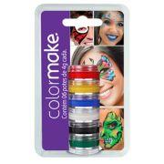 Cartela Tinta Cremosa com 06 cores ref.0006 - Colormake