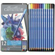 Estojo 12 cores Lápis Aquarela Marino 240 12 - Cretacolor