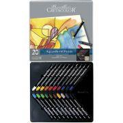 Estojo 20 cores Bastão Aquarela 450 20 - Cretacolor