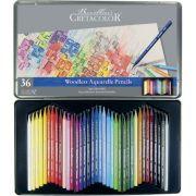 Estojo 36 cores Lápis Integral Aquarela 250 36 - Cretacolor