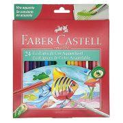 Estojo Faber Castell Lapis Aquarela 24 cores