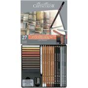 Estojo para desenho 27 peças Creativo 400 31 - Cretacolor