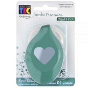Furador Jumbo Premium Coração - Toke e Crie