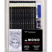 Kit lápis para Desenho c/14 peças Mod.51523 - Tombow