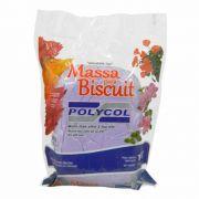 Massa para biscuit 1kg Lilas - Polycol