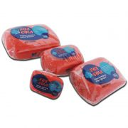 Massa para biscuit 900g Vermelho vivo - Fox