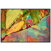 Quadro decorativo Abstrato em canvas - AGAB001