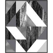 Quadro decorativo Abstrato em canvas - AGAB072