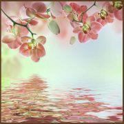 Quadro decorativo Flores em canvas - AGFL037