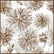 Quadro decorativo Flores em canvas - AGFL056