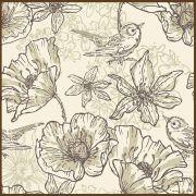 Quadro decorativo Flores em canvas - AGFL057