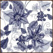 Quadro decorativo Flores em canvas - AGFL069