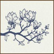 Quadro decorativo Flores em canvas - AGFL075