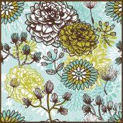 Quadro decorativo Flores em canvas - AGFL080
