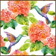 Quadro decorativo Flores em canvas - AGFL083