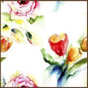 Quadro decorativo Flores em canvas - AGFL086