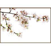 Quadro decorativo Flores em canvas - AGFL091