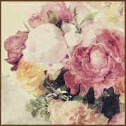 Quadro decorativo Flores em canvas - AGFL095