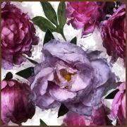 Quadro decorativo Flores em canvas - AGFL101