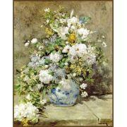 Quadro decorativo Flores em canvas - AGFL111