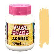 Tinta PVA fosca 100ml Acrilex - 525 Camurça