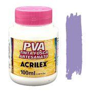 Tinta PVA fosca 100ml Acrilex - 528 Lilás