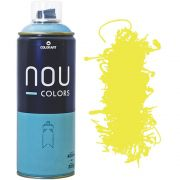 Tinta Spray Nou Colors 400ml Amarelo claro 70004